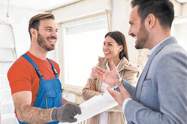在房屋出租前,如发现任何已知问题,建议业主要在房子出租前修好。(Shutterstock)