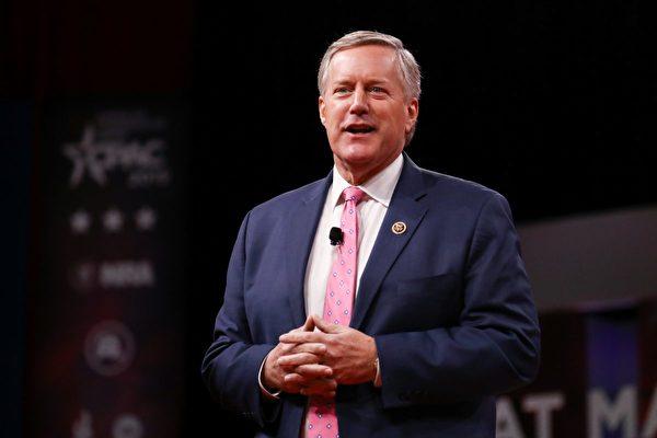 眾議員馬克‧梅多斯(Mark Meadows)2月28日在華盛頓舉行的CPAC大會上。(Charlotte Cuthbertson/大紀元)