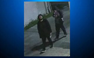 旧金山湾区圣马刁2纵火嫌犯  监控录像拍个正着