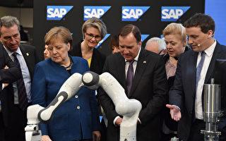 默克尔为汉诺威工业展揭幕 聚焦5G 人工智能