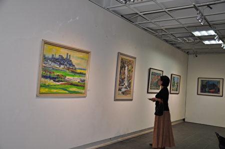清大竹師藝術空間展出的美麗作品