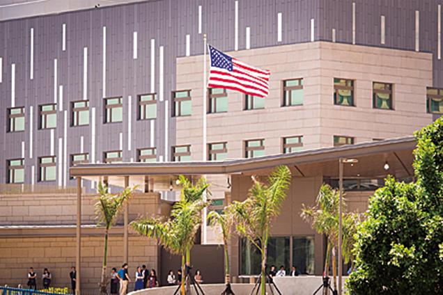 AIT證實 現址與新館皆有美軍陸戰隊派駐
