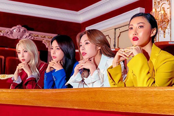 韩国人气女团MAMAMOO资料照。(希林国际提供)