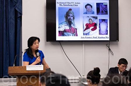 二胡藝術家美璇說,她的多位藝術家同事、好友因為不放棄信仰,而被中共折磨至死、或精神失常、承受冤獄。(林樂予/大紀元)