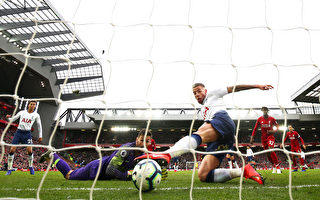 英超:利物浦擊敗熱刺領跑 阿森納升第三