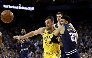 NBA西部榜首之爭:金州勇士輕取丹佛掘金