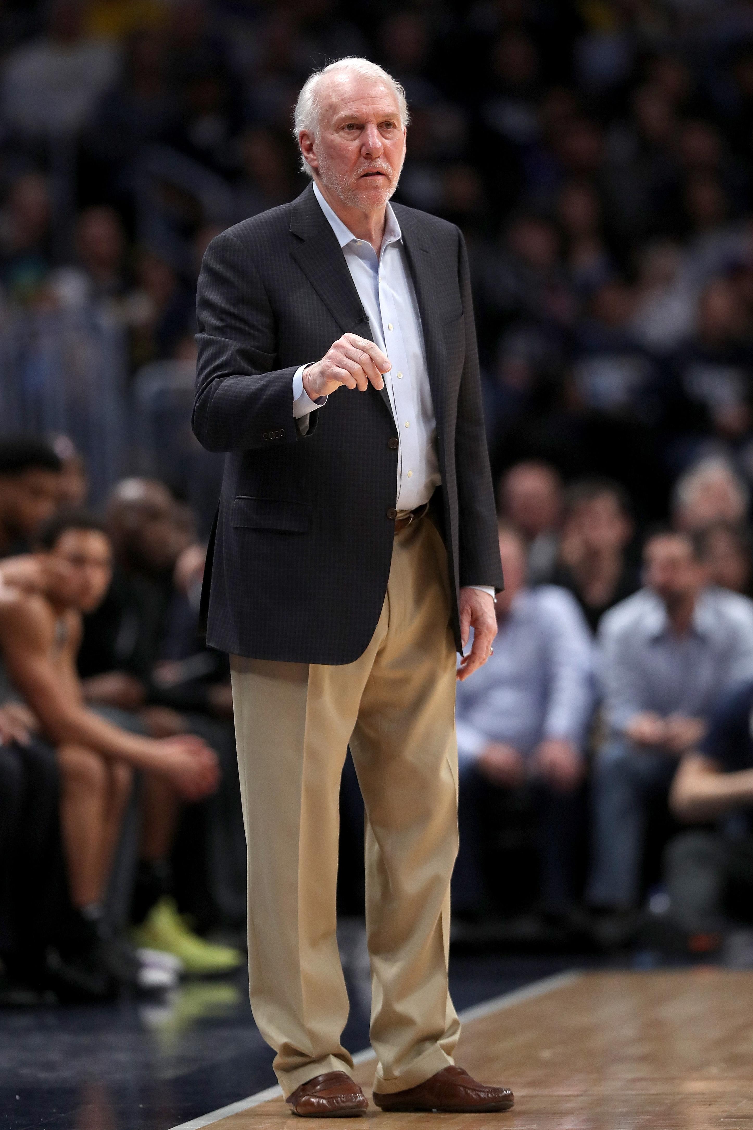 波波维奇成为NBA历史上胜场最多的教练