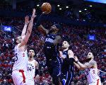 NBA季后赛东部首轮 魔术客场战猛龙
