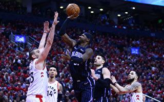 NBA季後賽東部首輪 魔術客場戰猛龍
