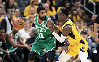 NBA季后赛:凯尔特人横扫步行者晋级