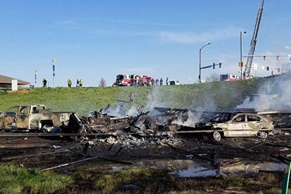 丹佛28车追撞疑刹车失灵惹祸 肇事司机被捕
