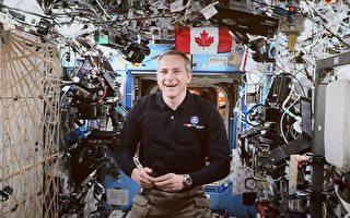 加拿大宇航员圣雅克今日太空行走