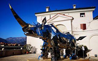 《金钢犀牛》现身意大利 台湾艺术国际放彩