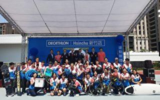 全台最大迪卡侬在新竹开幕 运动体验场正式启用
