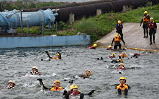 急流救援班開訓 提升水域自救救人能力