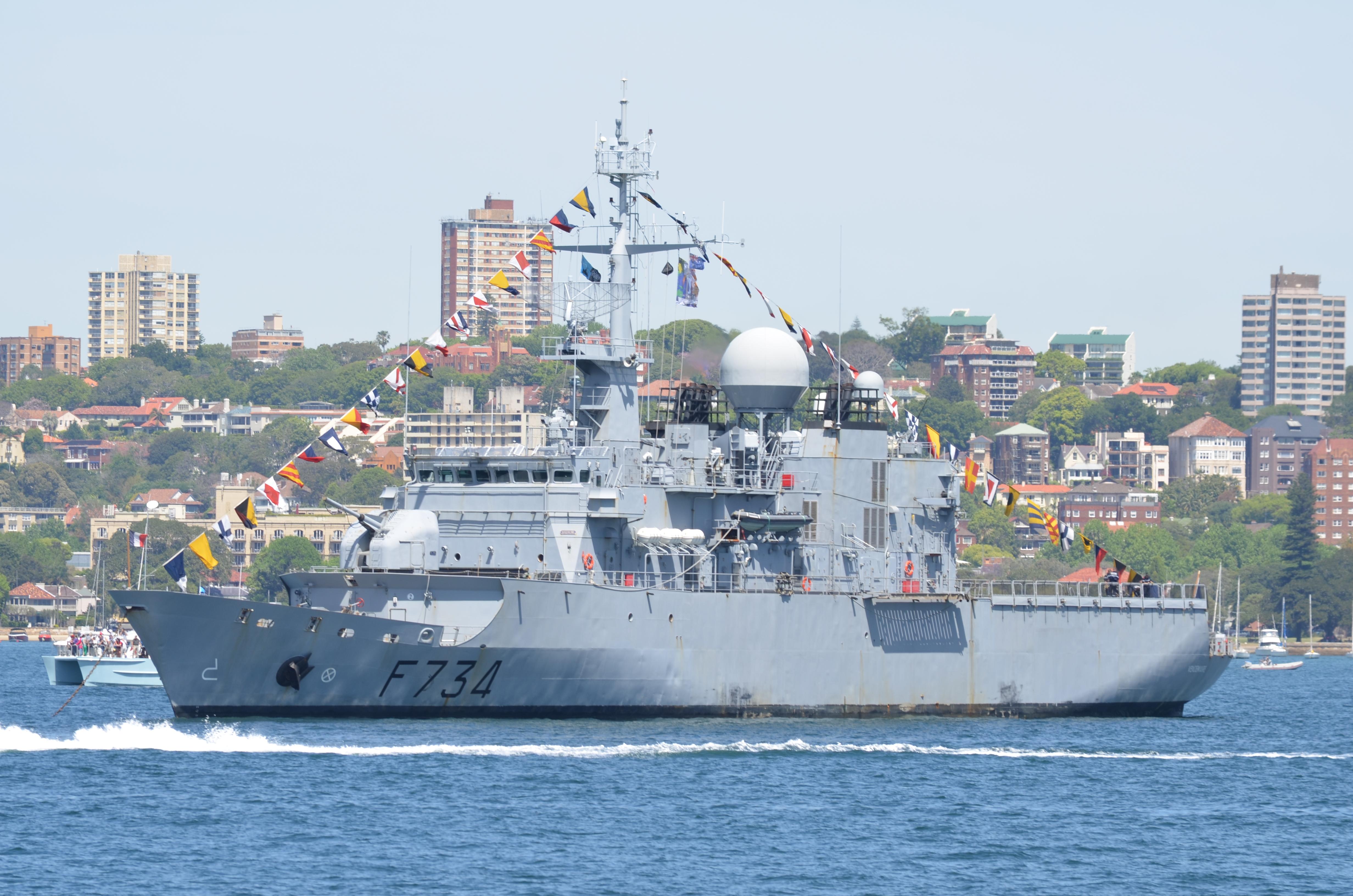 法國軍艦高調穿越台海不尋常 有何玄機?