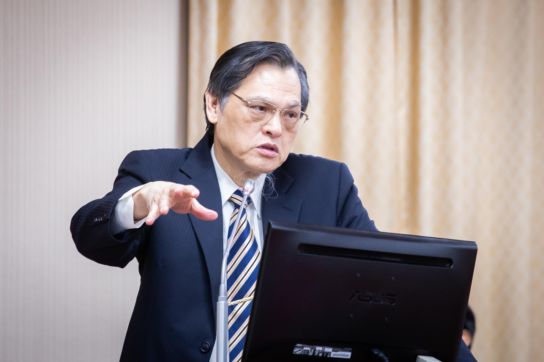 圖為陸委會主委陳明通,資料照。(陳柏州/大紀元)