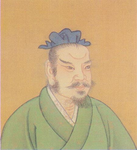 清人繪田單彩像(公有領域)