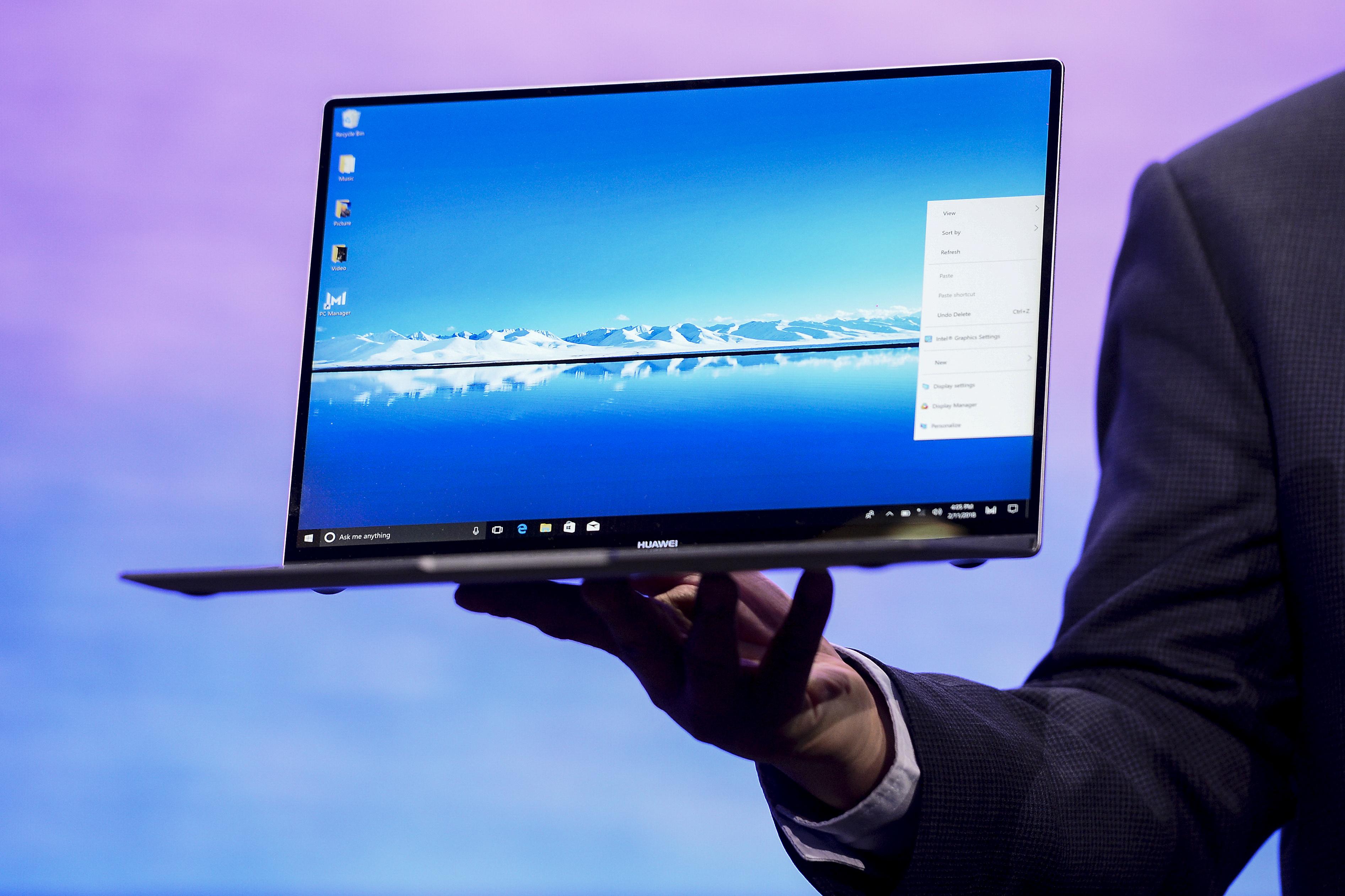 受美禁令影響 華為取消發佈新筆記本電腦