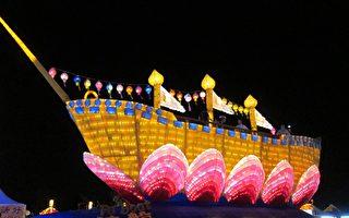 老外逛台灣燈會 讚《法船》花燈祥和正能量