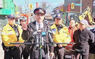 多倫多唐人街搶劫案升 警啟動「藍野豬」行動