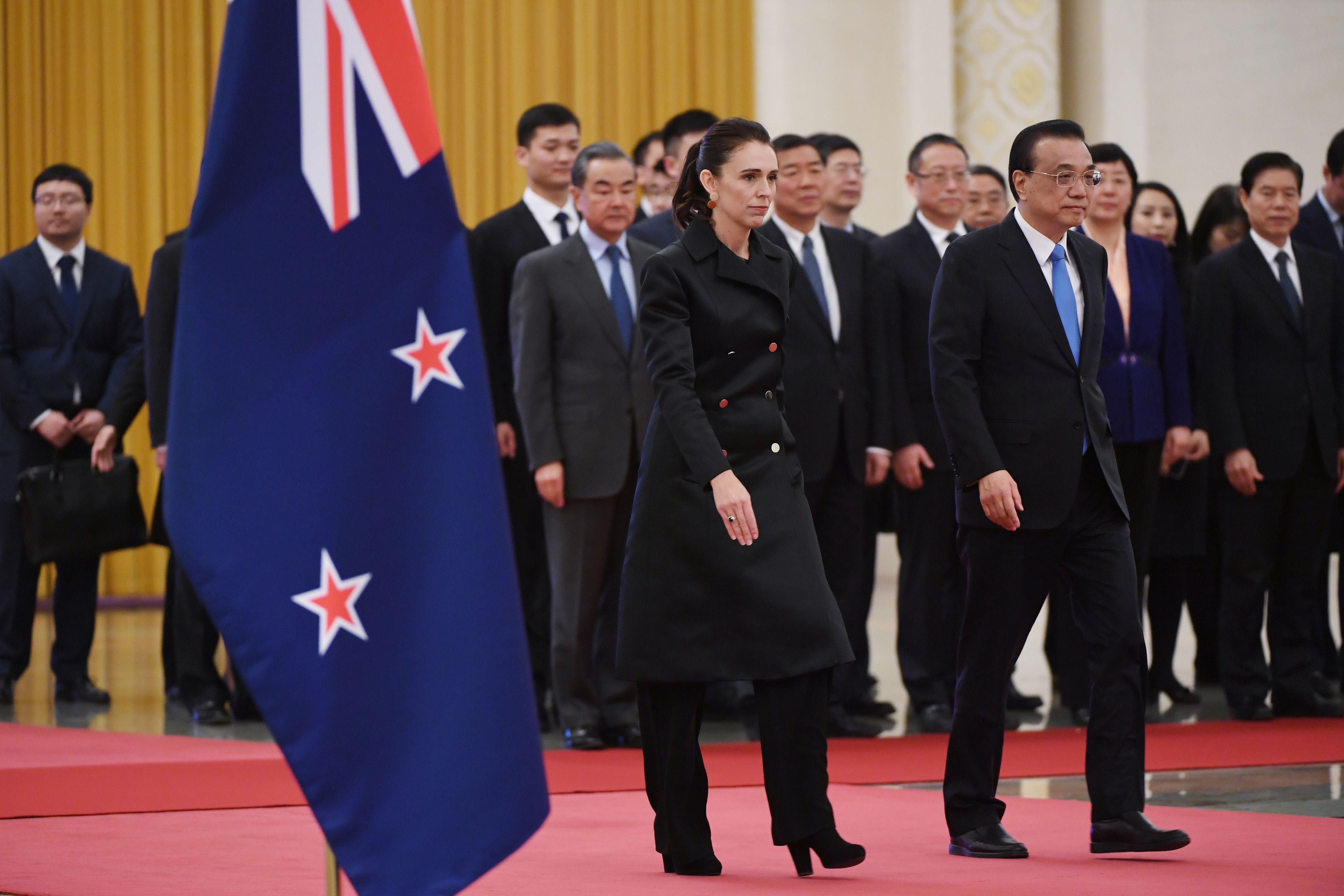 紐西蘭總理訪華一日行 提令中共棘手的問題