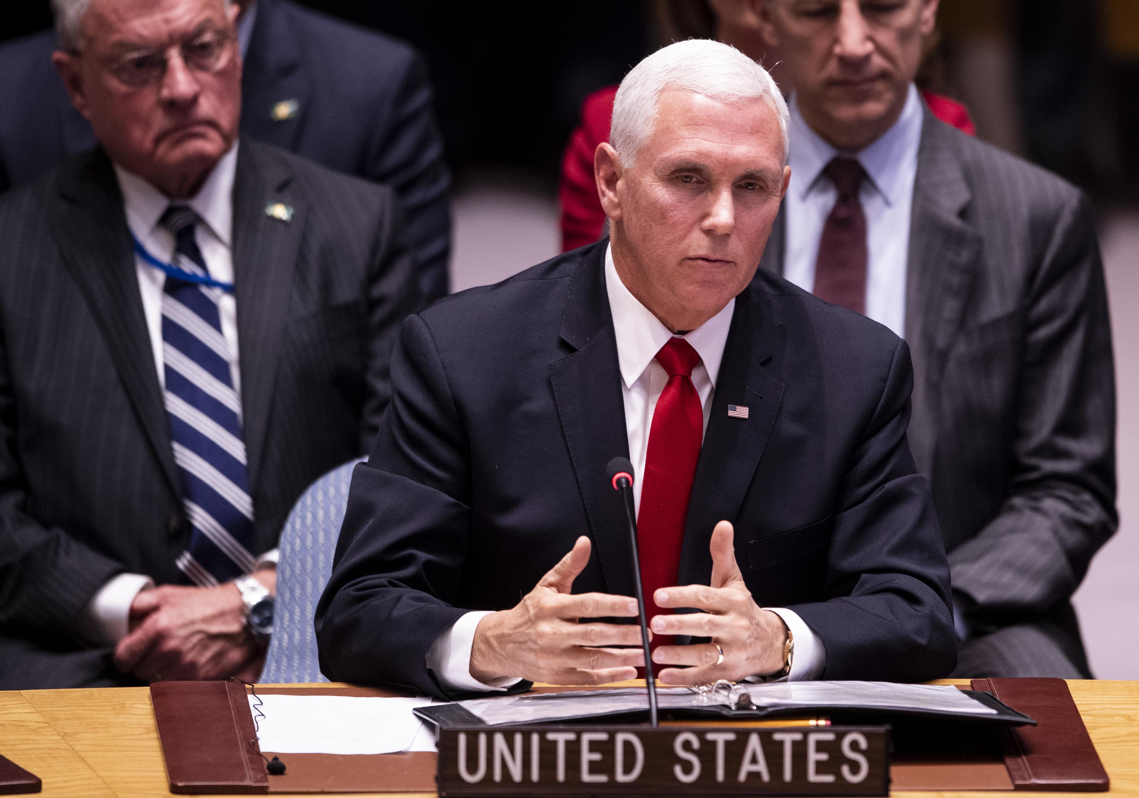 美洲國家組織承認瓜伊多 彭斯籲聯合國跟進