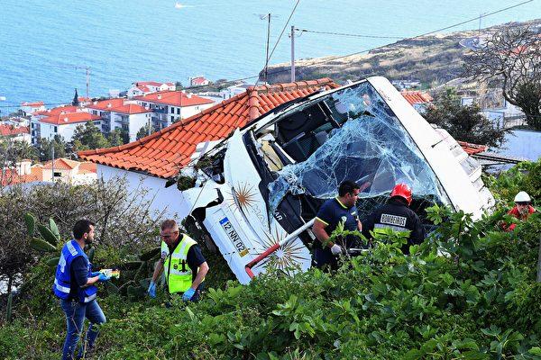 【快讯】葡萄牙旅巴侧翻29死 多为德国人