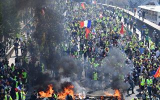不满巴黎圣母院亿万捐款 黄马甲掀暴力抗议