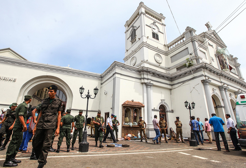 斯里蘭卡連環爆炸襲擊 特朗普等多國首腦譴責