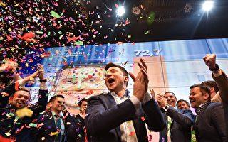 乌克兰大选出口民调:喜剧演员轻松获胜