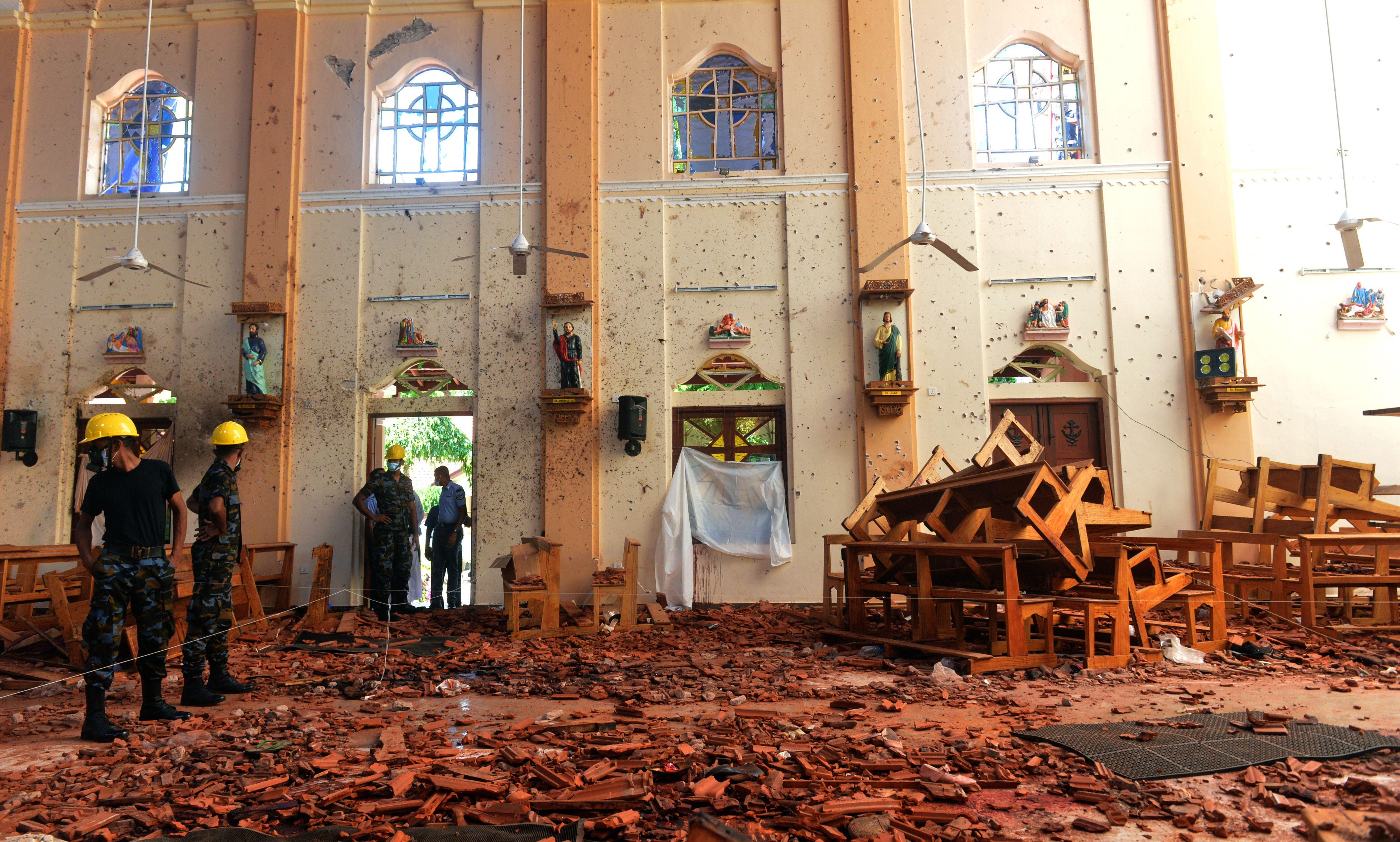斯里蘭卡倖存者:爆炸前疑與疑犯擦肩而過