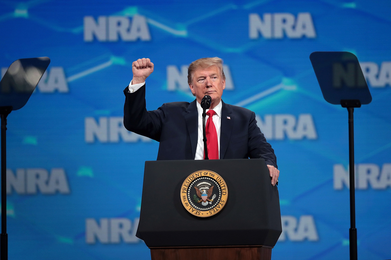 特朗普:美國撤回聯合國武器貿易條約簽名