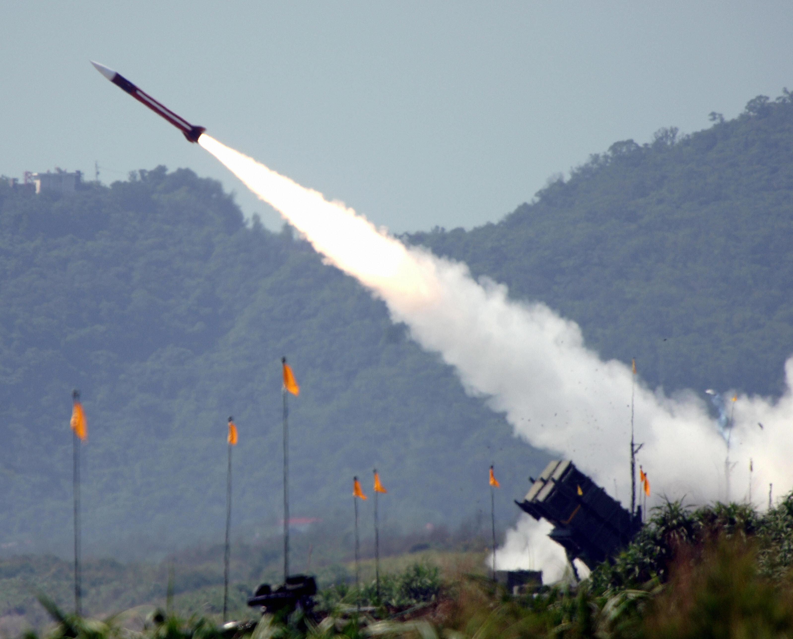 美軍火商獲900萬美元合約 援台愛國者導彈