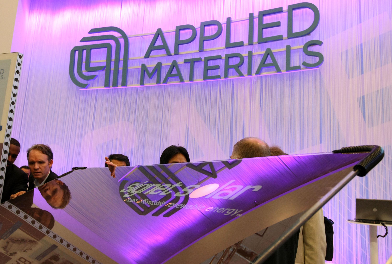總部位於加州的全球頂級晶片和顯示設備製造商應用材料公司(Applied Materials)已停止為中國最大的LED晶片製造商廈門三安光電供貨和提供服務。因三安光電4月10日被美國政府列入「未經核實名單」(unverified list)。(Justin Sullivan/Getty Images)