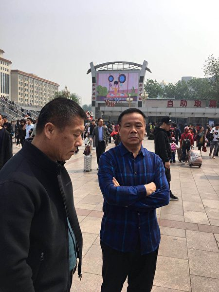 江蘇省常州市截訪人員。(受訪者提供)