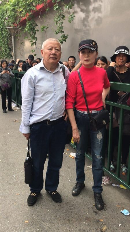 上海訪民張瑜等人到國家信訪局信訪。(受訪者提供)