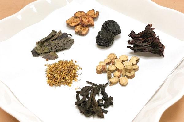 春季養生茶飲:悅梅飲。(台中慈濟醫院提供)