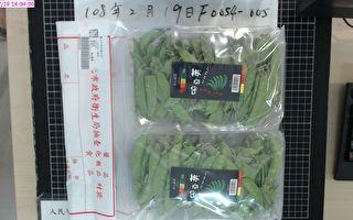 台北市抽驗蔬果農藥殘留 家樂福豌豆莢不合格
