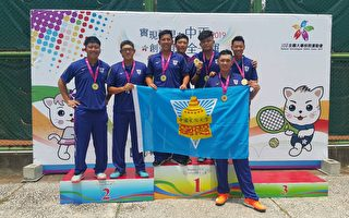网球公开男子组团体赛 文化大学完成3连霸