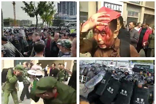 鎮江和平度老兵維權遭嚴打 18人被判刑