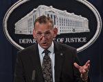 桑德斯表示,美國特勤局局長蘭多夫·阿爾斯(Randolph Alles,如圖)將很快離開特勤局。(Andrew Caballero-Reynolds/AFP/Getty Images )
