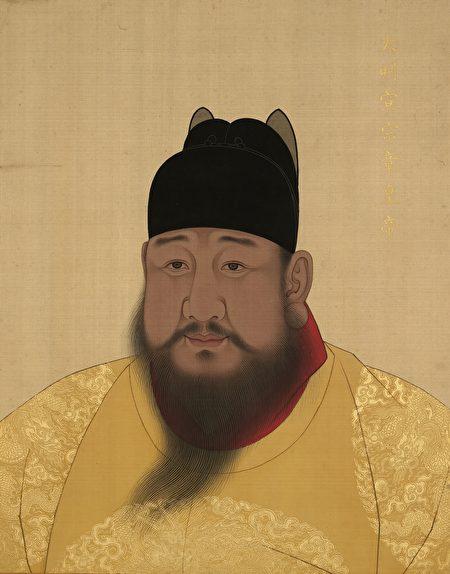 明宣宗畫像,台北故宮博物院藏。(公有領域)