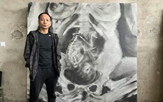 北京疫情下 人權藝術家王鵬畫室面臨強拆