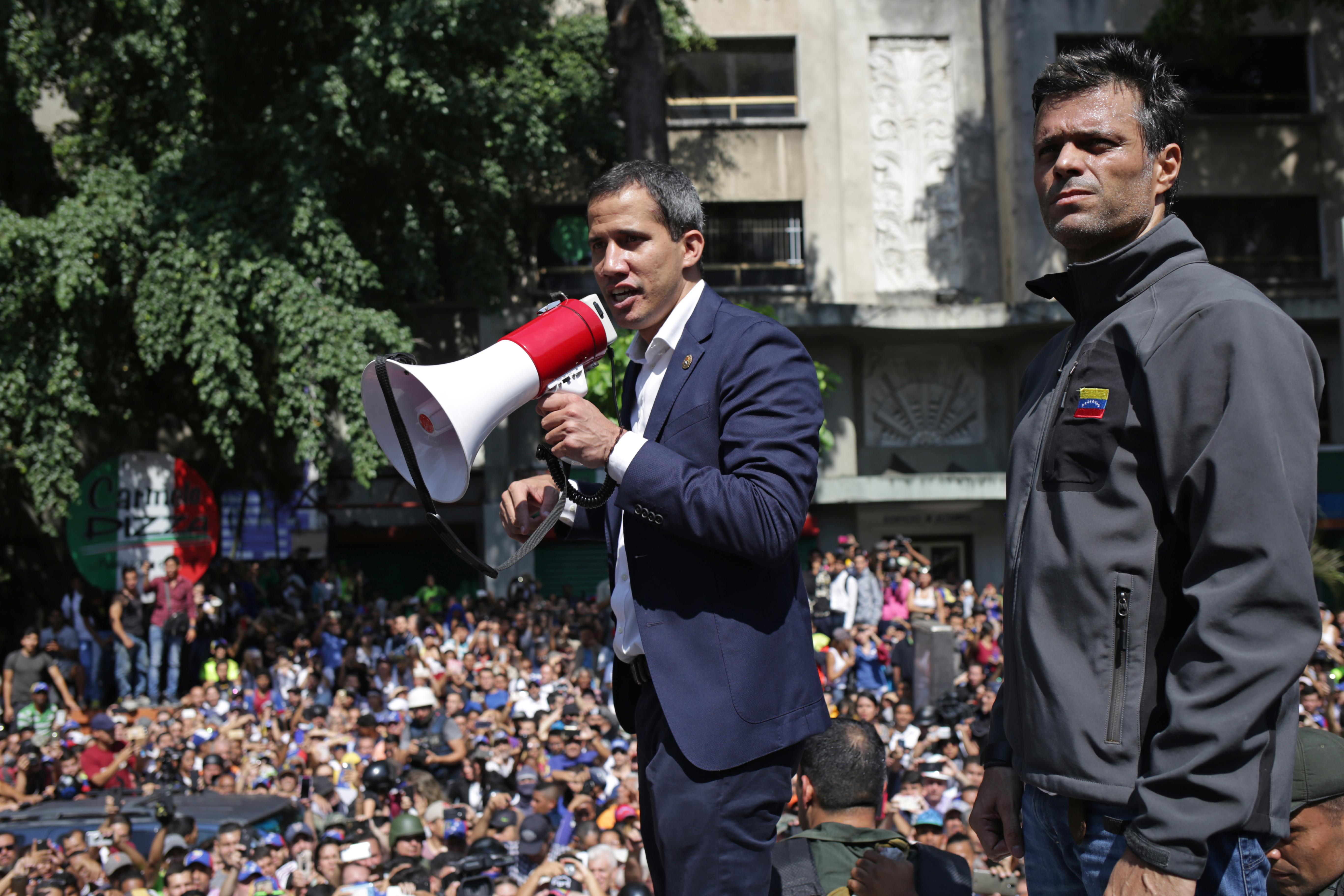 瓜伊多:周三進行有史以來最大規模抗議