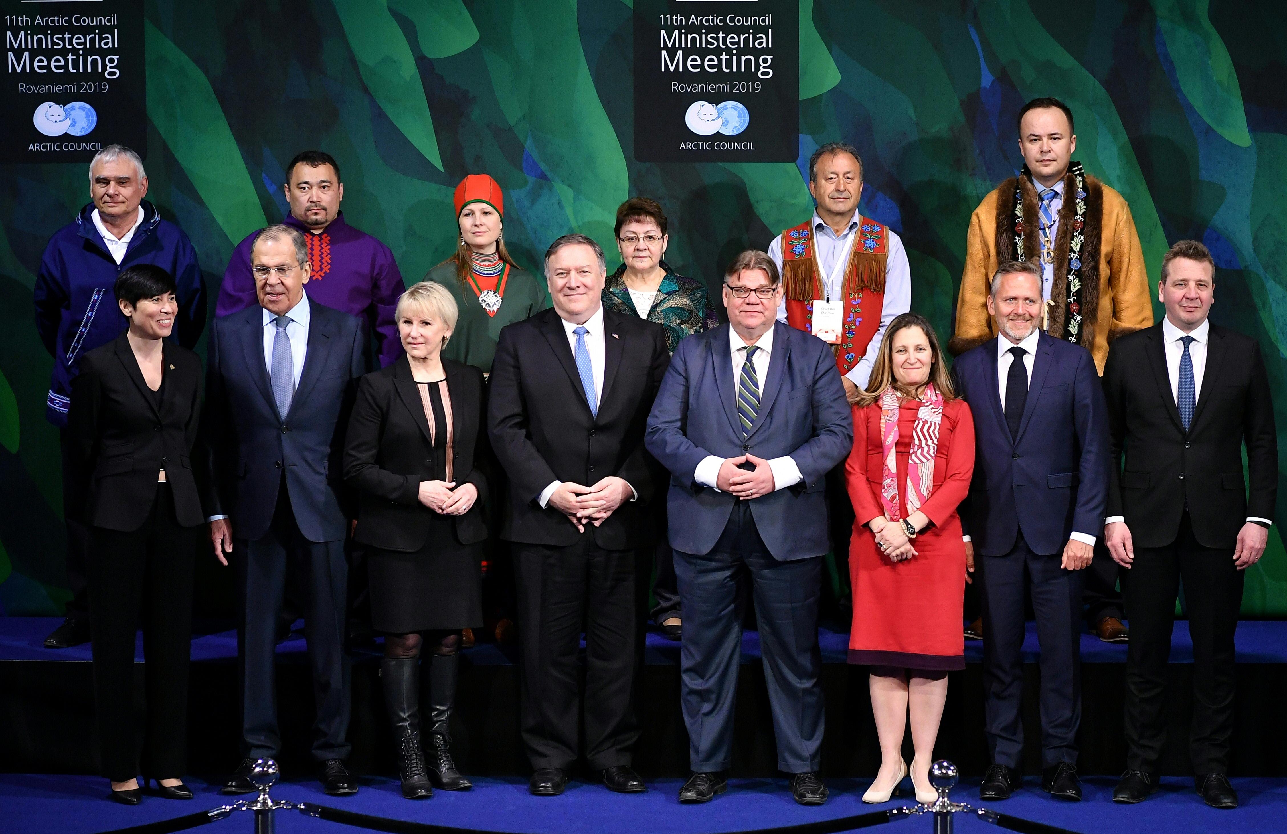 應對中共擴張?北極理事會宣言重申和平