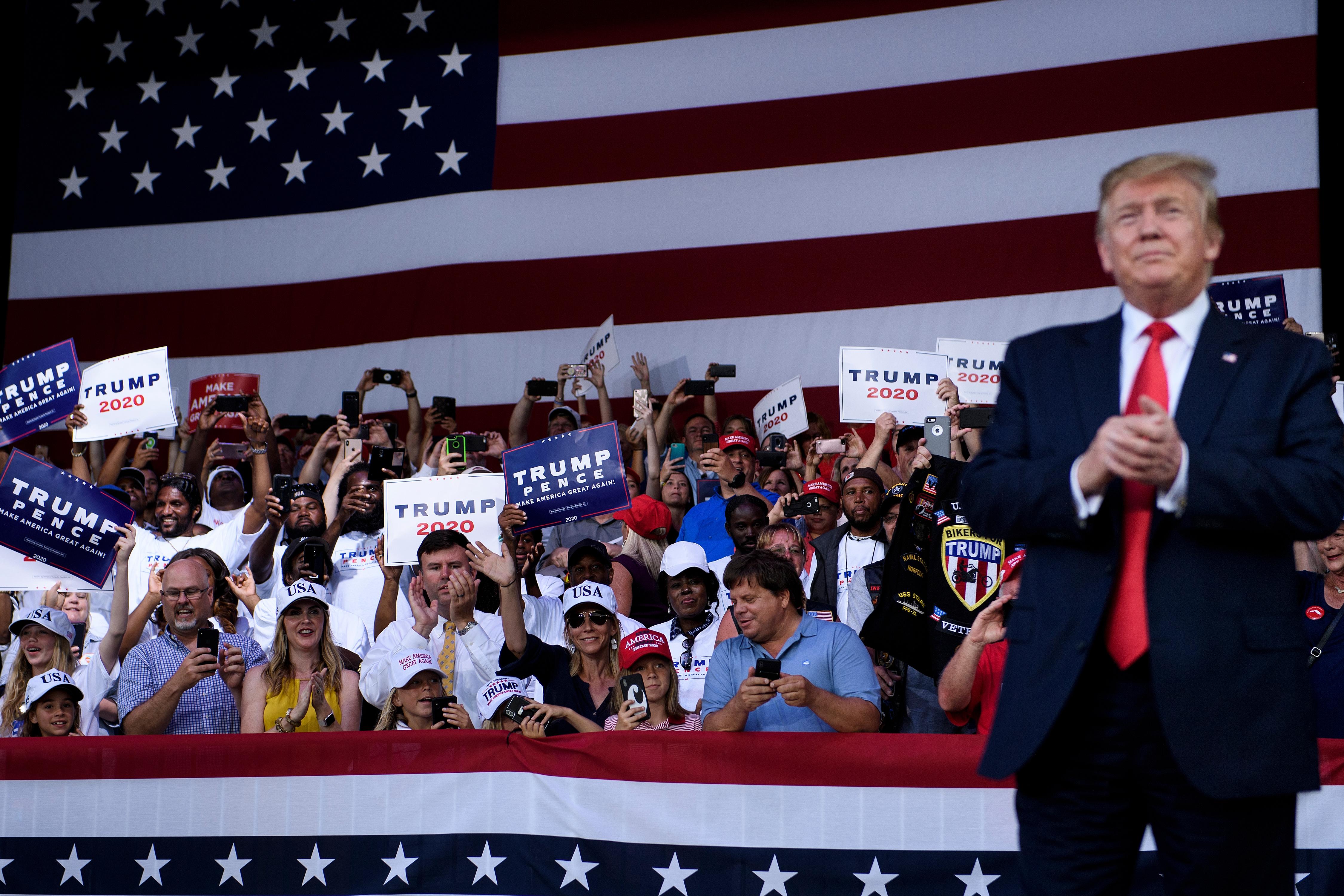 貿易戰 兩黨議員和各界支持特朗普對中共強硬