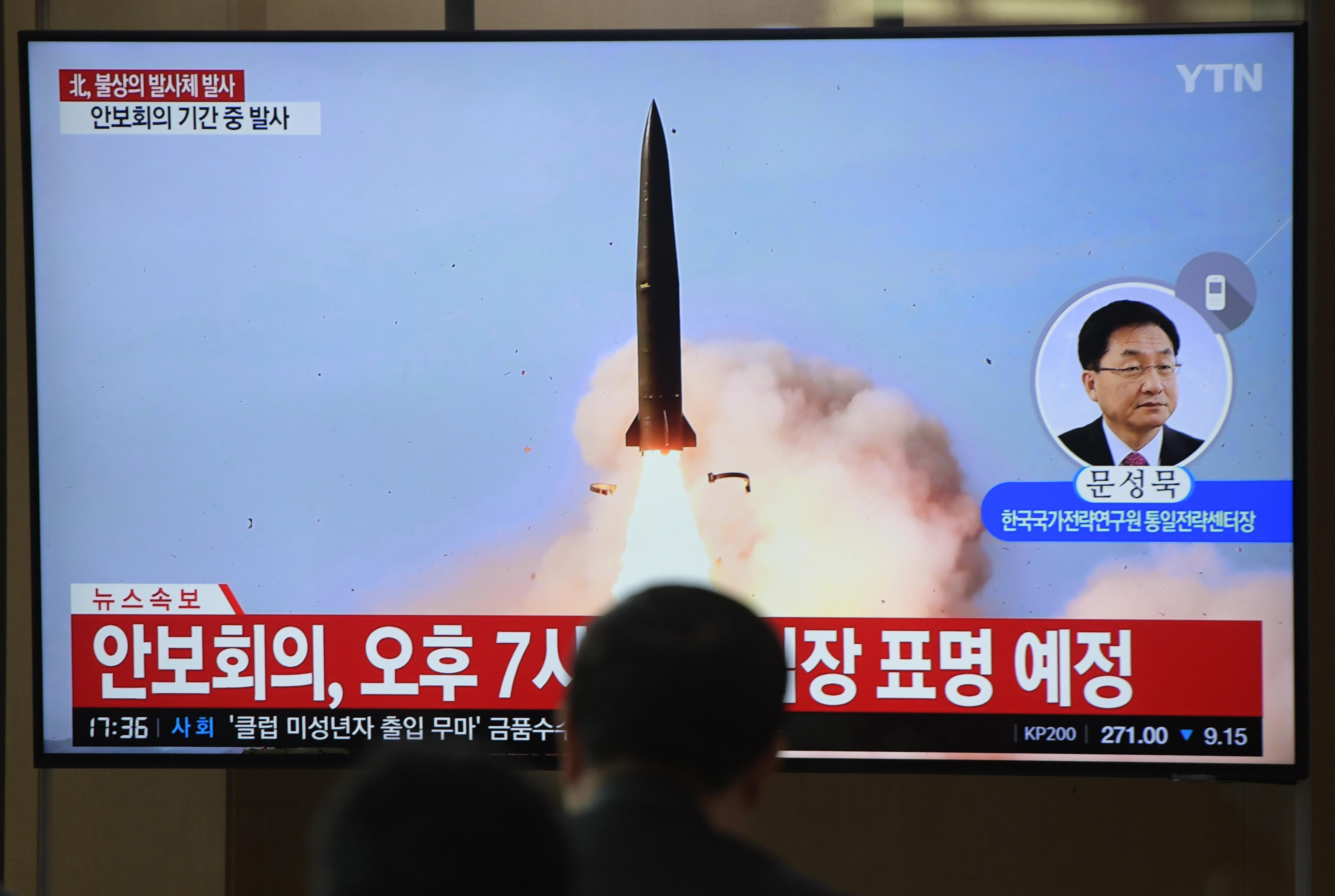 北韓射短程導彈10分鐘後 美試射洲際導彈