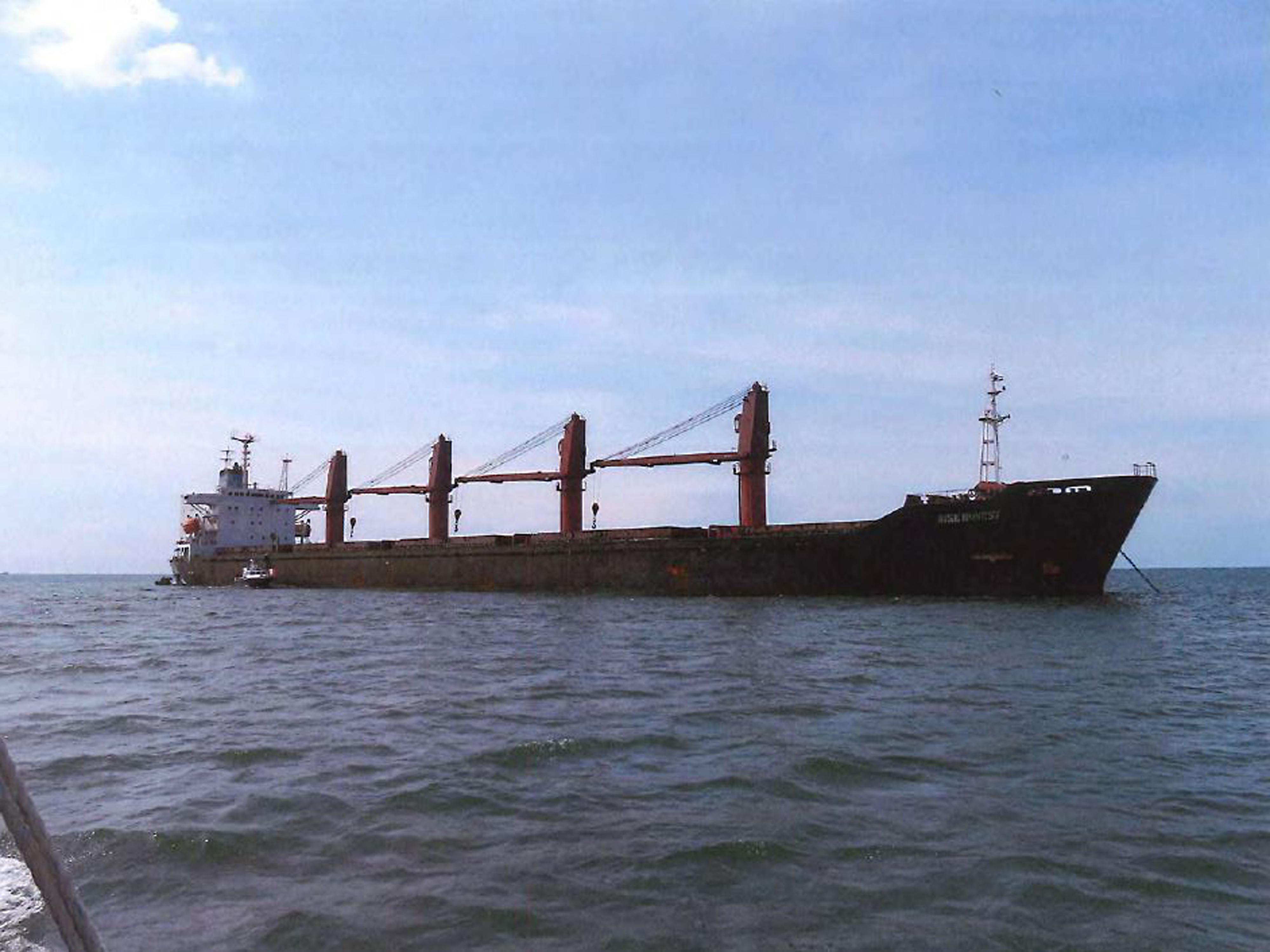 施壓升級 美首次扣留北韓違反制裁運煤船