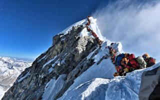 珠峰攻顶排长龙 登山客长时间等候酿5死